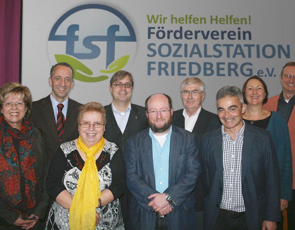 Regionales Engagement - Förderverein der Sozialstation Friedberg e.V.