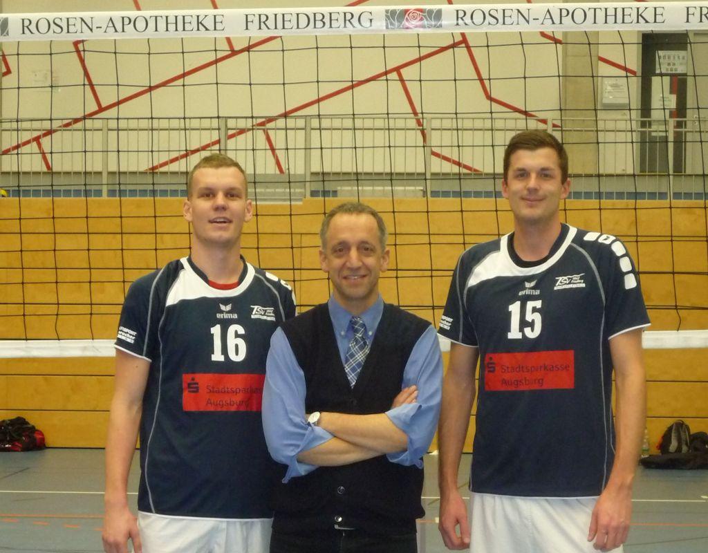 Sponsoring für den TSV Friedberg Handball