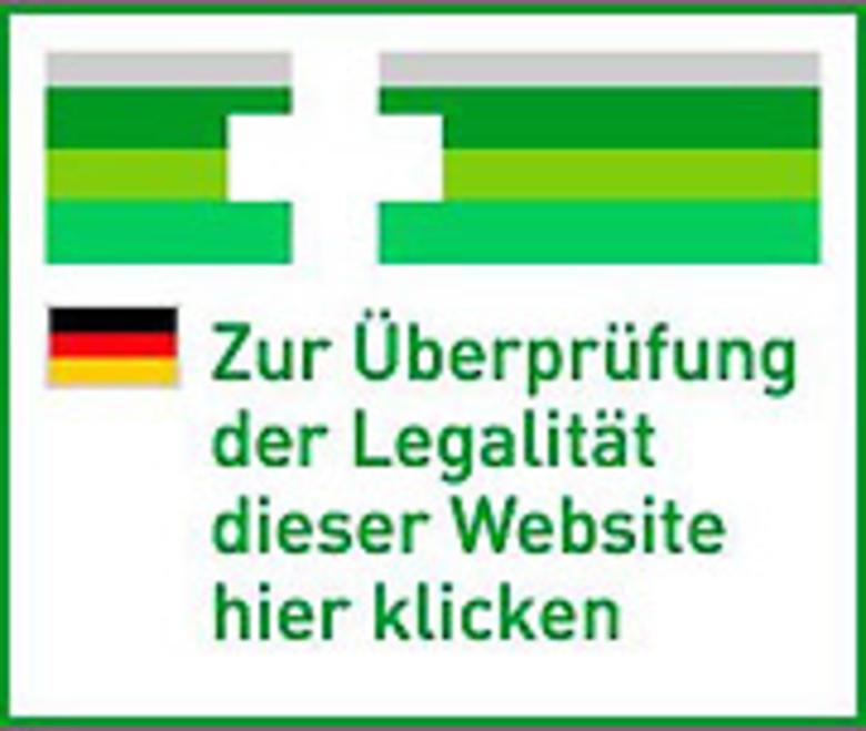 Überprüfung der Legalität dieser Website